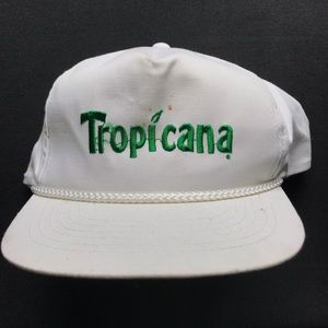 Tropicana embroidered SnapBack hat